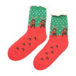 Czerwono-Zielone Skarpetki Christmas Time. Czerwone skarpetki damskie other. Za 19,99 zł.