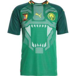 Puma FCF CAMEROON HOME REPLICA Tshirt z nadrukiem power green/june bug. Niebieskie t-shirty męskie z nadrukiem Puma, m, z materiału. Za 379,00 zł.