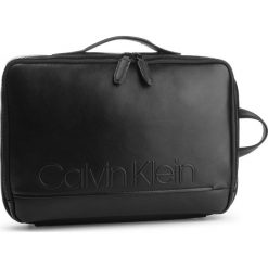Plecak CALVIN KLEIN - Elevated Logo Conv Backpack K50K503882 001. Czarne plecaki męskie marki Calvin Klein, ze skóry ekologicznej. Za 699,00 zł.