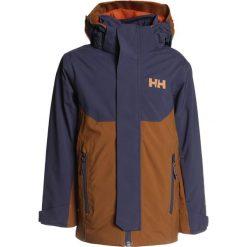 Helly Hansen UNIVERS  Kurtka snowboardowa cinnamon. Niebieskie kurtki chłopięce sportowe marki bonprix, z kapturem. W wyprzedaży za 468,30 zł.