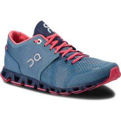 Buty ON - Cloud X 00020 Lake/Coral 99984. Czarne buty do biegania damskie marki On, z materiału. Za 649,00 zł.