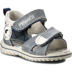 Sandały PRIMIGI - 1361600 Blue. Niebieskie sandały chłopięce Primigi, z materiału. W wyprzedaży za 159,00 zł.
