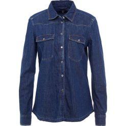 7 for all mankind WESTERN  Koszula indigo. Niebieskie koszule damskie 7 for all mankind, m, z bawełny. Za 929,00 zł.