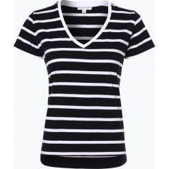 Marie Lund - T-shirt damski, niebieski. Niebieskie t-shirty damskie marki Marie Lund, l, z haftami. Za 59,95 zł.