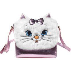 Aristocats Marie Torba na ramię biały/różowy. Białe torebki klasyczne damskie Aristocats, z aplikacjami, z aplikacjami. Za 199,90 zł.
