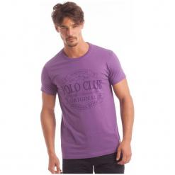 Polo Club C.H..A T-Shirt Męski Xl Fioletowy. Fioletowe koszulki polo marki Polo Club C.H..A, m. W wyprzedaży za 119,00 zł.