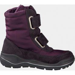 Ricosta GLORIA Kozaki bordeaux. Fioletowe buty zimowe damskie marki Ricosta, z materiału, na wysokim obcasie. W wyprzedaży za 199,50 zł.