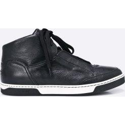 Gino Rossi - Buty. Czarne buty sportowe męskie marki Gino Rossi, z materiału, na sznurówki. W wyprzedaży za 269,90 zł.