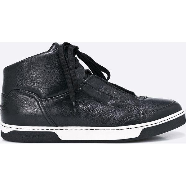 9cbe5308b64eb Gino Rossi - Buty - Czarne buty sportowe męskie marki Gino Rossi, z ...