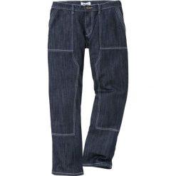Dżinsy WORKER Loose Fit Straight bonprix ciemnoniebieski. Niebieskie jeansy męskie regular bonprix. Za 139,99 zł.