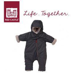 Kombinezony niemowlęce: Kombinezon zimowy Combi T-ZIP 6-12m Heather Grey (0827156)