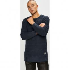 Sublevel - Sweter. Czarne swetry klasyczne męskie Sublevel, m, z bawełny, z okrągłym kołnierzem. Za 139,90 zł.