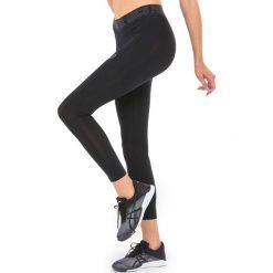 Bryczesy damskie: Asics Spodnie legginsy damskie Base 7/8 Tight Asics czarne  r. L (1436130904)