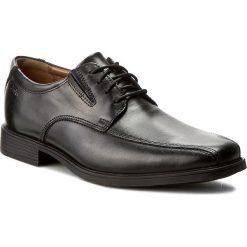 Derby męskie: Półbuty CLARKS - Tilden Walk 261103107 Black Leather
