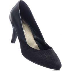 Buty ślubne damskie: Czółenka bonprix czarny