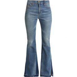 LOIS Jeans RAVAL CONRAD OPEN Jeansy Dzwony stone occlusion. Czarne jeansy damskie marki LOIS Jeans, z bawełny. Za 629,00 zł.