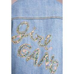 MAX&Co. DEVOTO Kurtka jeansowa midnight blue. Białe bomberki damskie MAX&Co., z bawełny. W wyprzedaży za 489,50 zł.