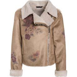 Sisley JACKET Kurtka przejściowa beige. Brązowe kurtki chłopięce przejściowe Sisley, z materiału. W wyprzedaży za 194,35 zł.