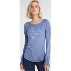 Bluzki damskie: Yogasearcher KARANI Bluzka z długim rękawem blue denim