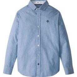 Koszula bonprix niebieski Chagall - biały w paski. Niebieskie bluzki dziewczęce w paski bonprix, m, z klasycznym kołnierzykiem. Za 59,99 zł.