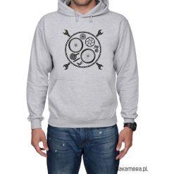 Bluza męska z kapturem kangur BikeTool. Czarne bluzy męskie rozpinane marki Pakamera, m, z kapturem. Za 149,00 zł.