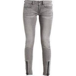 GStar LYNN LUNAR MID SKINNY  Jeans Skinny Fit medium aged. Szare jeansy damskie relaxed fit marki G-Star, z bawełny. W wyprzedaży za 365,40 zł.