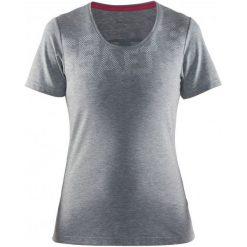 Craft Koszulka Habit Grey  M. Szare bluzki sportowe damskie marki Craft, m, z materiału. W wyprzedaży za 109,00 zł.