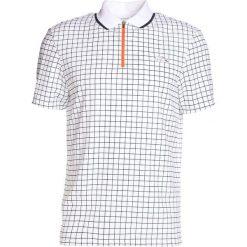 Lacoste Sport ROLAND GARROS  Koszulka polo white/navy blue/apricot. Białe koszulki polo Lacoste Sport, m, z materiału. Za 389,00 zł.