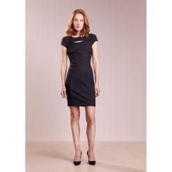 Patrizia Pepe ABITO DRESS Sukienka etui nero. Czarne sukienki marki Patrizia Pepe, z bawełny. W wyprzedaży za 701,40 zł.