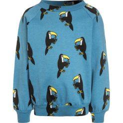 Bluzy chłopięce: Småfolk WITH TOUCAN Bluza cendre blue