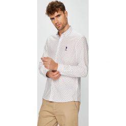 U.S. Polo - Koszula. Czarne koszule męskie na spinki marki TOM TAILOR DENIM, l, z bawełny, button down, z długim rękawem. W wyprzedaży za 299,90 zł.
