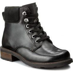 Botki LASOCKI - WI16-VIVA-03 Czarny. Czarne buty zimowe damskie Lasocki, z nubiku, na obcasie. Za 199,99 zł.