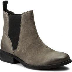 Sztyblety VAGABOND - Cary 4220-450-18 Dk Grey. Szare buty zimowe damskie marki Vagabond, z materiału, na obcasie. W wyprzedaży za 279,00 zł.