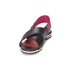 Sandały Sonia Rykiel  688204. Czarne sandały trekkingowe damskie Sonia Rykiel. Za 1159,20 zł.