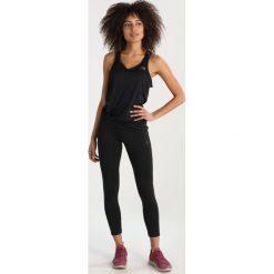The North Face AMBITION TANK  Koszulka sportowa black. Różowe topy sportowe damskie marki The North Face, m, z nadrukiem, z bawełny. Za 149,00 zł.