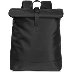 Plecaki damskie: Plecak z połyskującą powłoką bonprix czarny