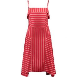 Sukienki hiszpanki: Banana Republic STRAPPY SEAMED DRESS SARAH STRIPE Sukienka letnia deep red