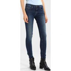 Calvin Klein Jeans MID RISE SKINNY Jeans Skinny Fit highline blue. Niebieskie jeansy damskie marki Calvin Klein Jeans. W wyprzedaży za 359,20 zł.