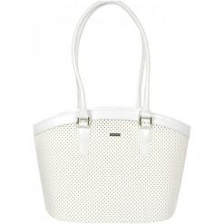 Grosso Bag Torebka Damska Biała. Białe torebki klasyczne damskie Grosso Bag. W wyprzedaży za 155,00 zł.