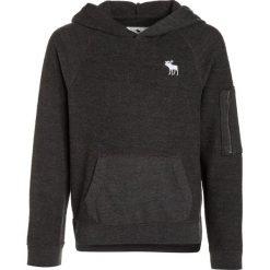 Abercrombie & Fitch Bluza z kapturem dark grey. Szare bluzy dziewczęce rozpinane Abercrombie & Fitch, z bawełny, z kapturem. W wyprzedaży za 125,30 zł.