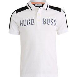 BOSS Kidswear MIT KURZEN ÄRMELN TRIKOT Koszulka polo weiß. Niebieskie bluzki dziewczęce bawełniane marki BOSS Kidswear. Za 259,00 zł.