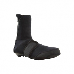 Ochraniacze na buty na rower 100. Czarne buty skate męskie B'TWIN, z neoprenu, rowerowe. Za 49,99 zł.