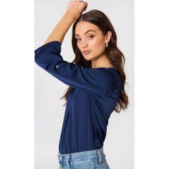 Bluzki damskie: Rut&Circle Bluzka Malin - Blue,Navy