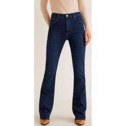 Mango - Jeansy Flare. Niebieskie jeansy damskie marki Mango. Za 139,90 zł.