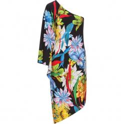 Sukienka bonprix czarny w kwiaty. Czarne sukienki marki bonprix, w kwiaty. Za 124,99 zł.