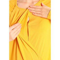 JoJo Maman Bébé MATERNITY & NURSING TOP Bluzka z długim rękawem ochre. Czarne bluzki z odkrytymi ramionami marki Fille Du Couturier, z bawełny. W wyprzedaży za 151,20 zł.