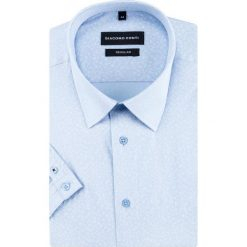 Koszula SIMONE KKNR000026. Brązowe koszule męskie na spinki marki QUECHUA, m, z elastanu, z krótkim rękawem. Za 169,00 zł.