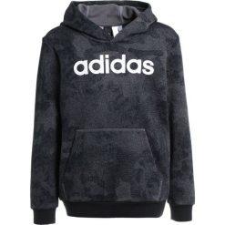 Adidas Performance HOOD Bluza grefou/black/white. Czerwone bluzy chłopięce marki adidas Performance, m. Za 179,00 zł.
