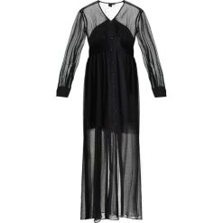 Długie sukienki: Lost Ink Długa sukienka black