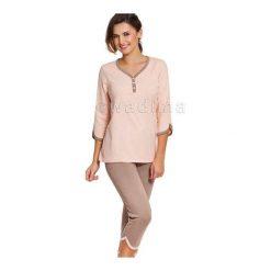 Piżamy damskie: Piżama Anabella 104236 3/4 ręk.